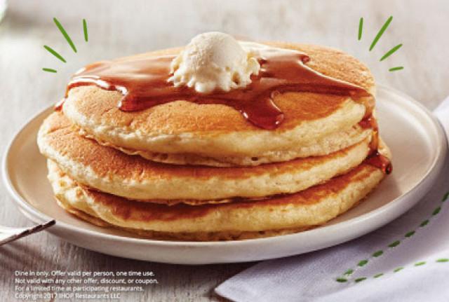 Short Stack Pancakes  IHOP $ 77 Short Stack of Pancakes on St Patricks Day