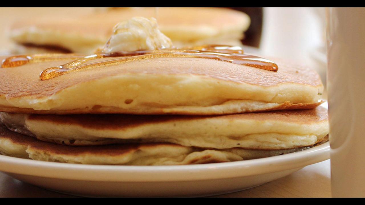 Short Stack Pancakes  IHOP celebrates National Pancake Day with free short stack
