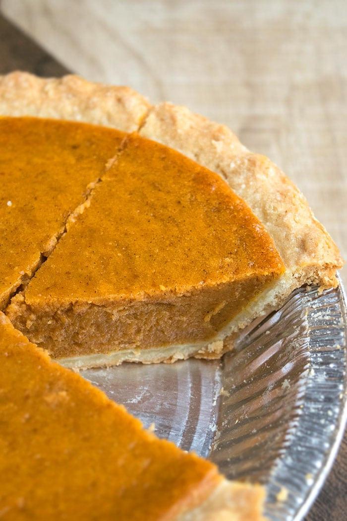 Should Pumpkin Pie Be Refrigerated  Easy Pumpkin Pie Recipe 5 Ingre nts CakeWhiz