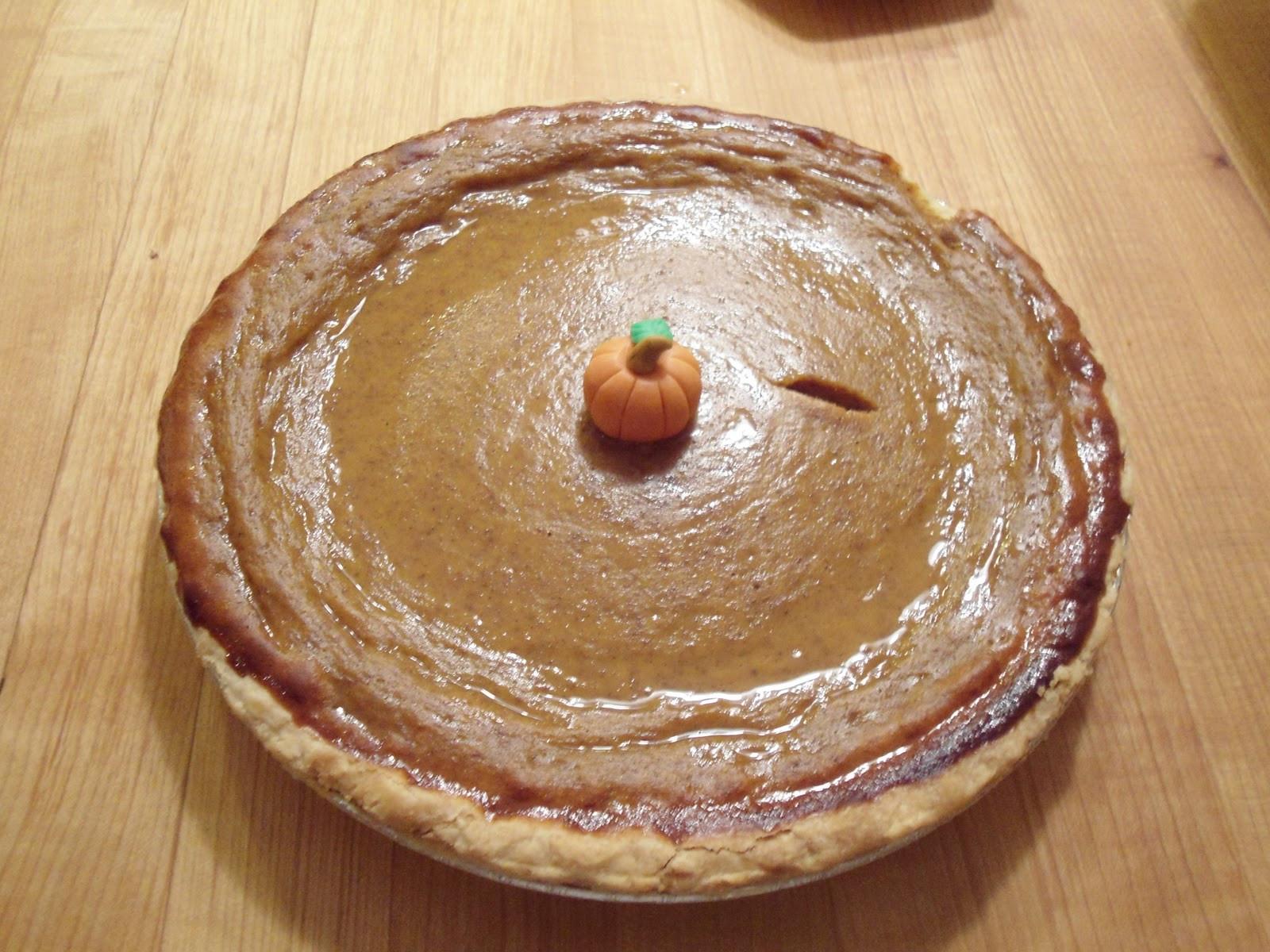 Should Pumpkin Pie Be Refrigerated  Day to Day Mish Mash Pumpkin Pie