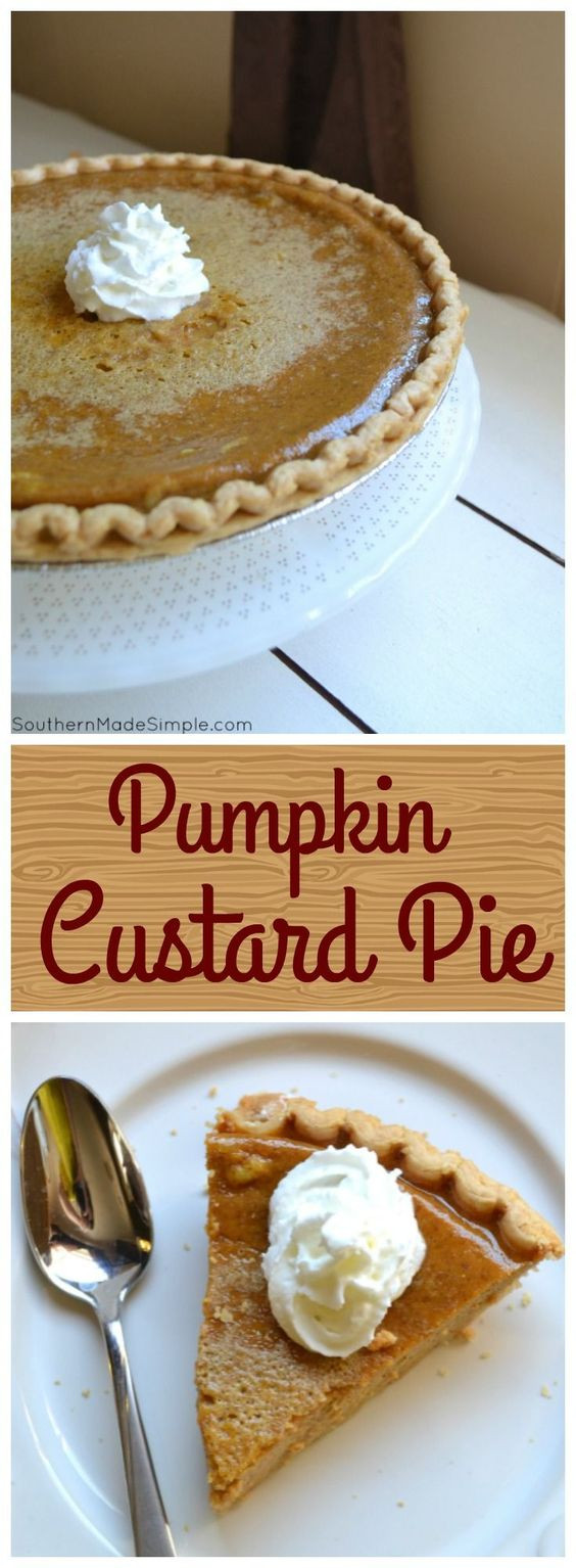 Should Pumpkin Pie Be Refrigerated  Pumpkin Custard Pie