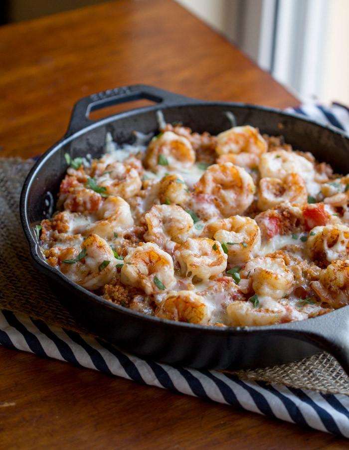 Shrimp And Quinoa  Cajun Shrimp and Quinoa Casserole