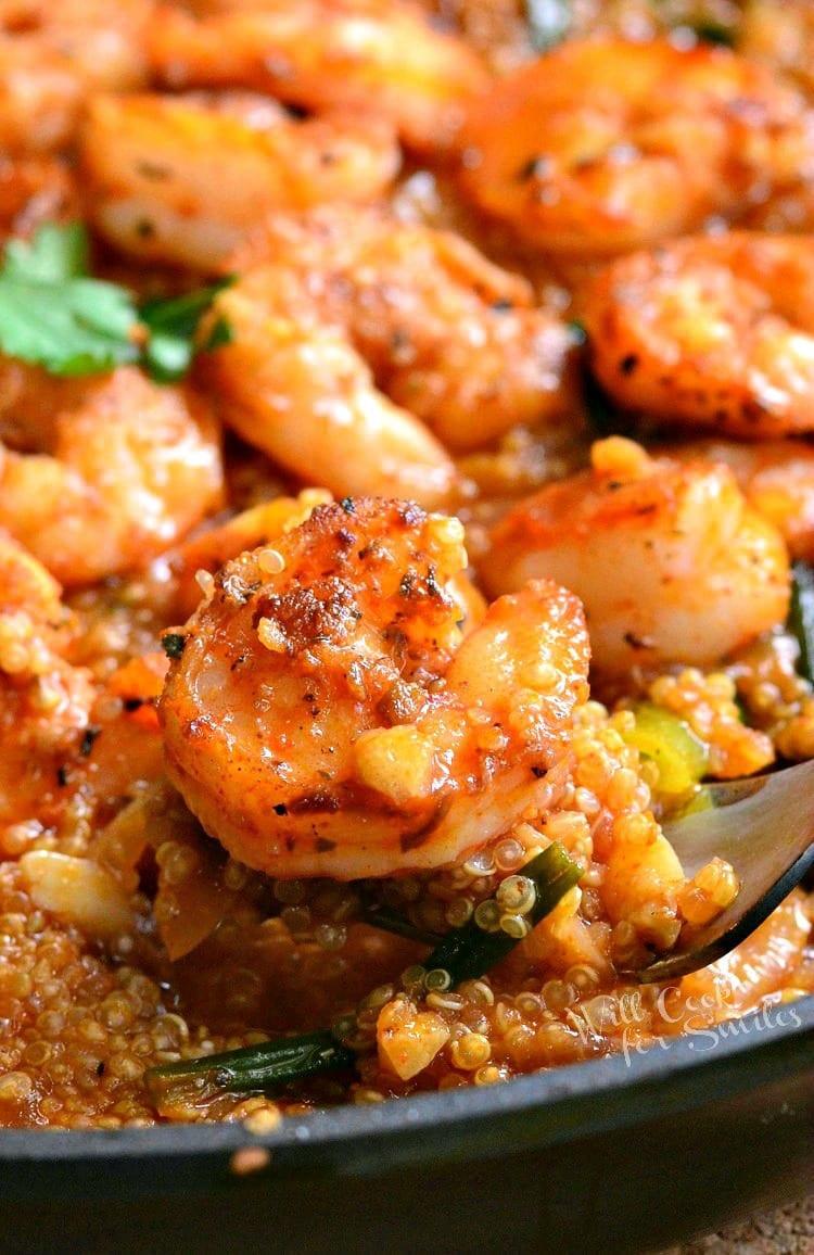 Shrimp And Quinoa  e Pot Cajun Shrimp and Quinoa Gluten Free Will Cook