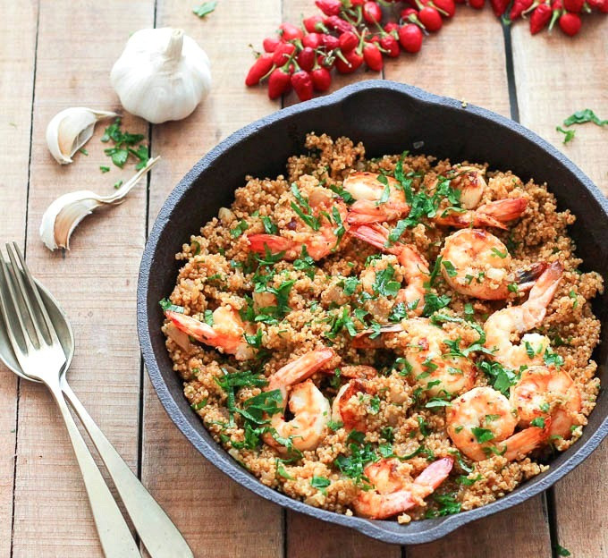 Shrimp And Quinoa  20 Weeknight Meals You Can Make in 30 Minutes or Less