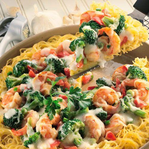 Shrimp Breakfast Recipes  Shrimp Pasta Pie Recipes