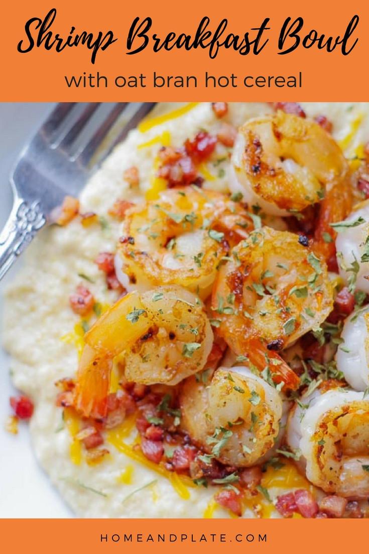 Shrimp Breakfast Recipes  Shrimp Breakfast Bowl Home & Plate