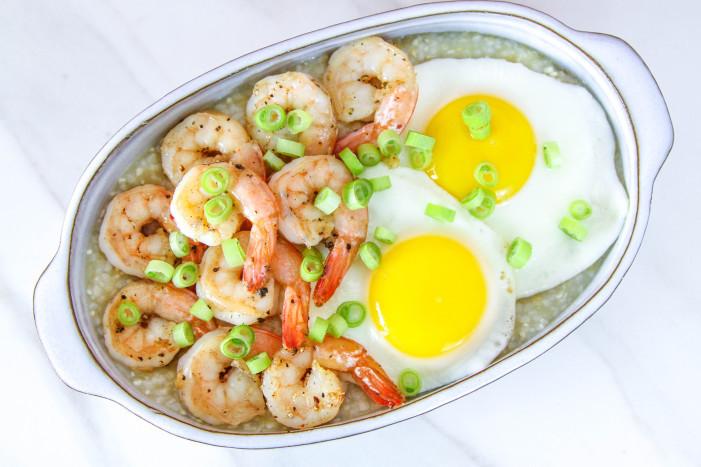 Shrimp Breakfast Recipes  Shrimp & Grits For 2
