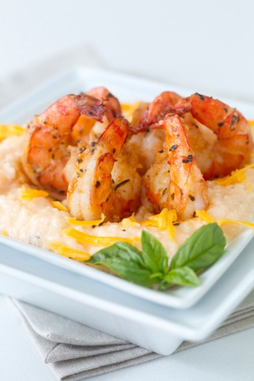 Shrimp Breakfast Recipes  With this Shrimp & Grits slowcooker recipe all you have
