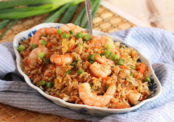 Shrimp Fried Rice  Easy Shrimp Fried Rice Recipe Recipe Girl