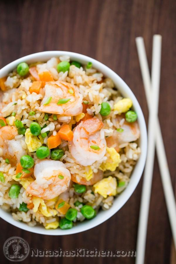 Shrimp Fried Rice  mock shrimp fried rice