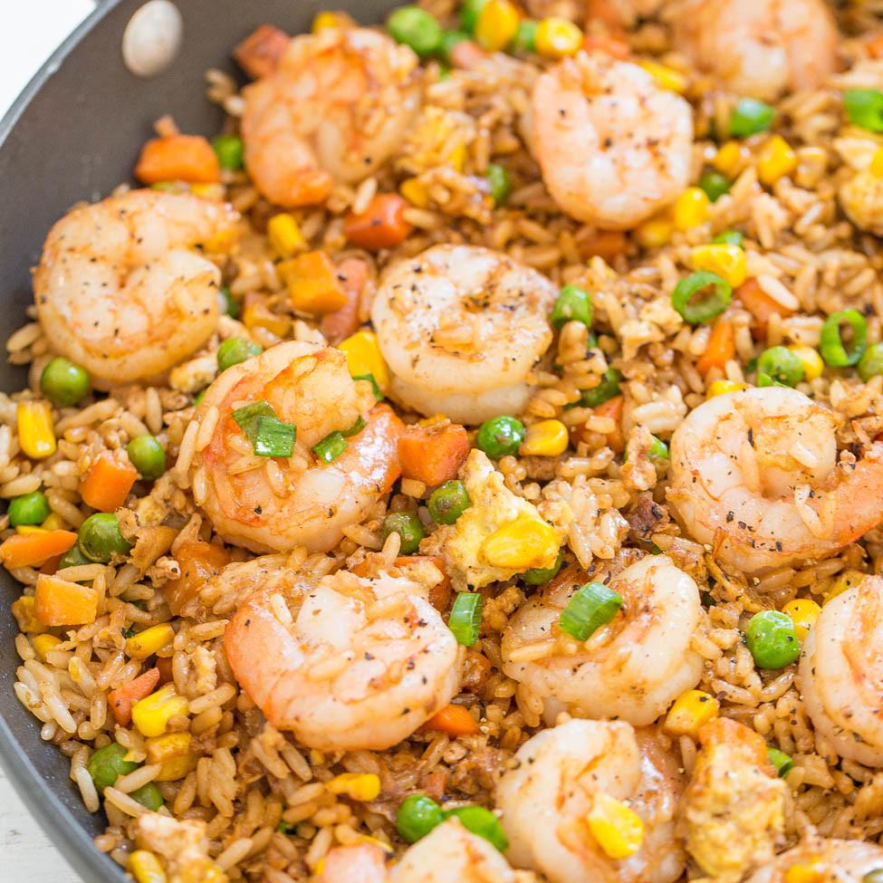 Shrimp Fried Rice  Easy Better Than Takeout Shrimp Fried Rice Averie Cooks