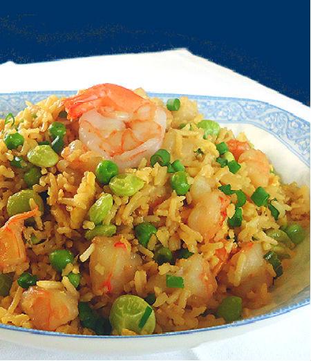 Shrimp Fried Rice  e Perfect Bite Shrimp Fried Rice