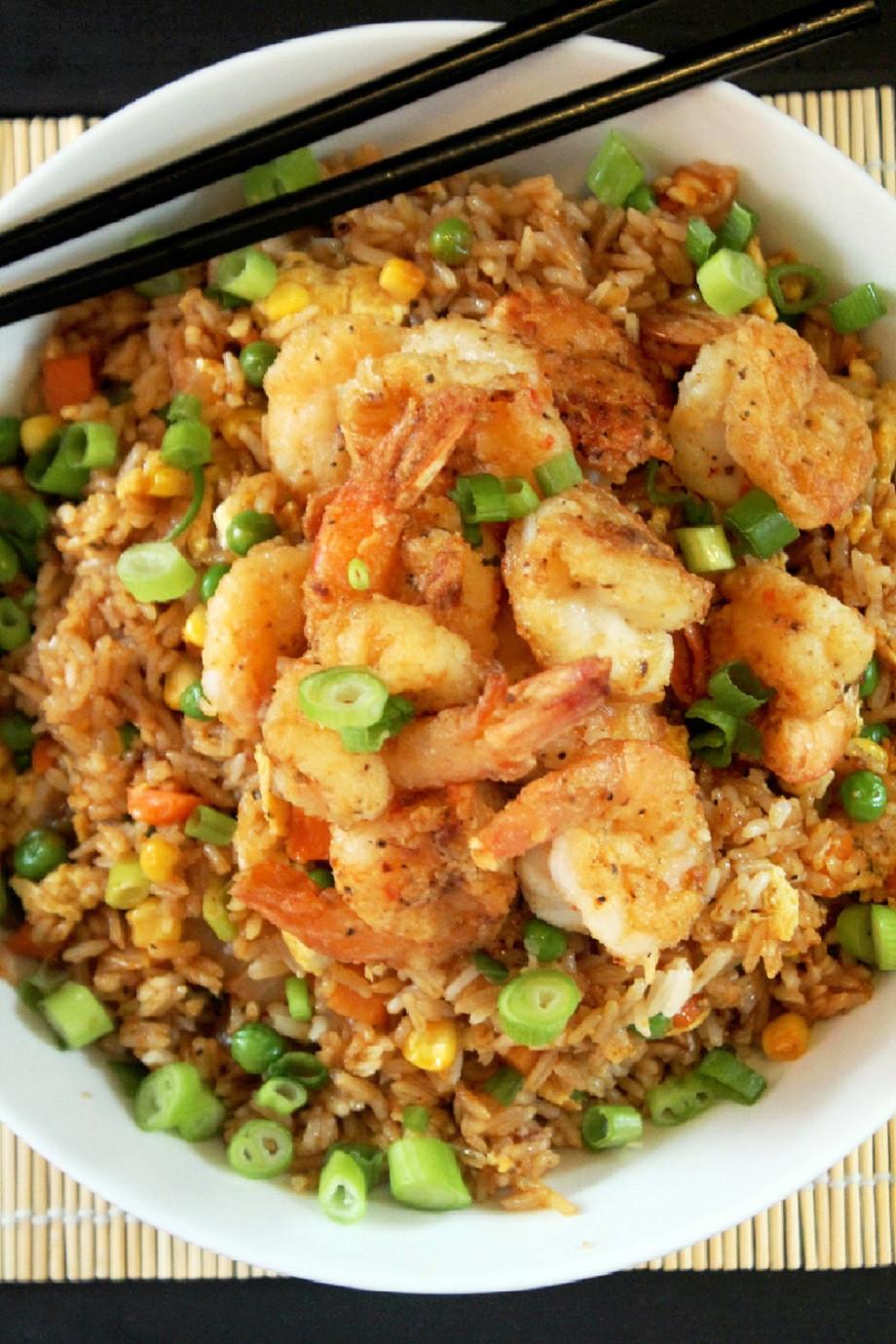Shrimp Fried Rice  Chinese Style Shrimp Fried Rice Creole Contessa