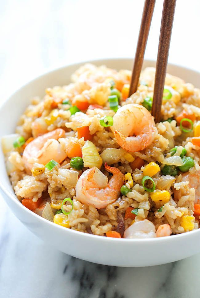Shrimp Fried Rice  17 Scrumptiously Tempting Recipes You Can Eat For Just
