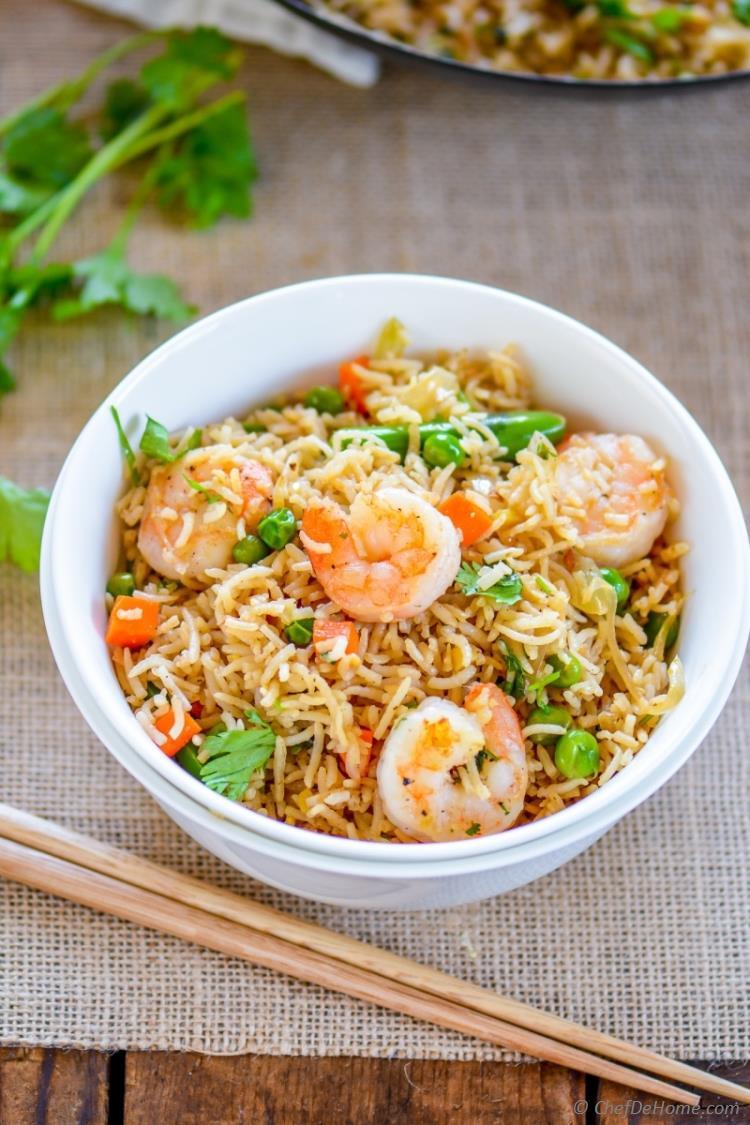 Shrimp Fried Rice  Spicy Shrimp Fried Rice Recipe