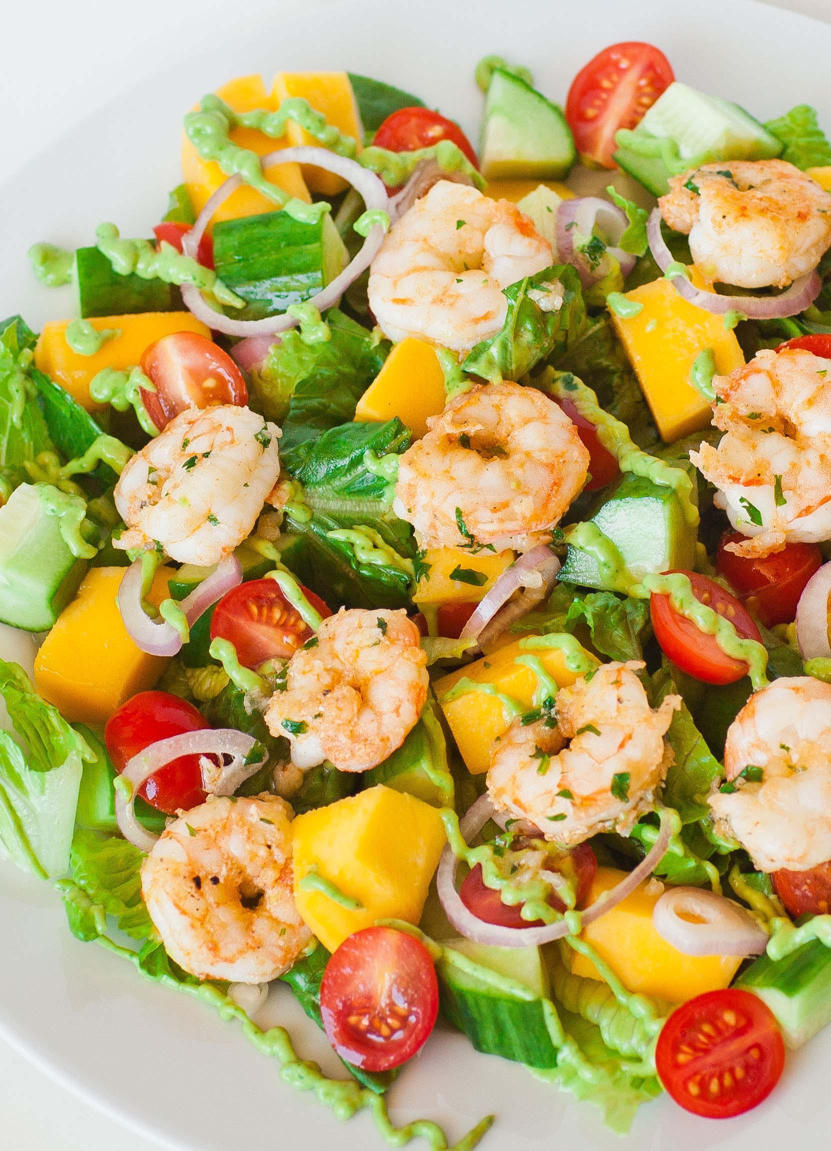 Shrimp Salad Dressings  Shrimp Salad with Avocado Dressing Tatyanas Everyday Food