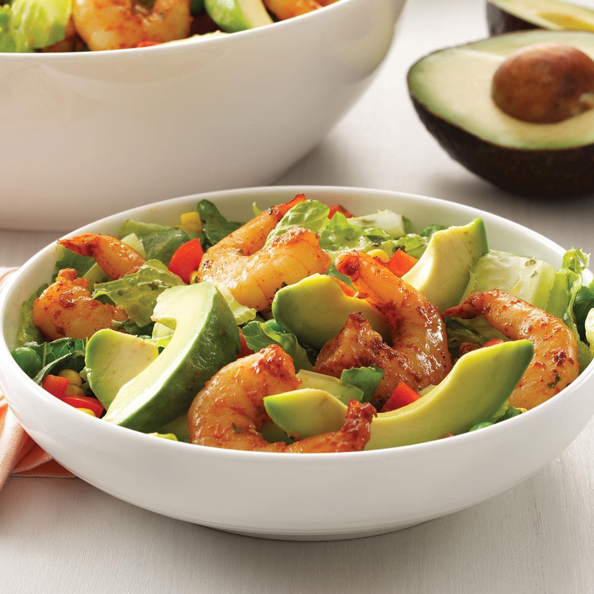 Shrimp Salad Dressings  Shrimp Salad with Cilantro Dressing Recipe