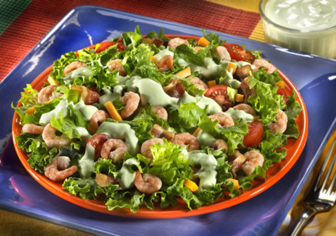 Shrimp Salad Dressings  Shrimp Salad with Avocado Dressing