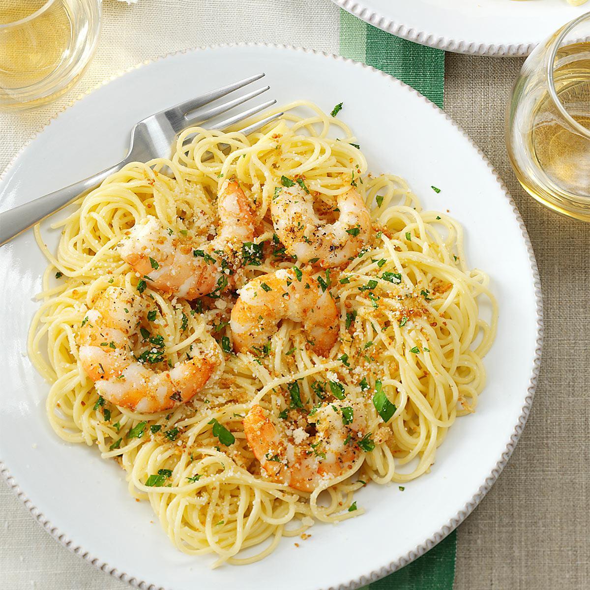 Shrimp Scampi Pasta  Shrimp Scampi Recipe