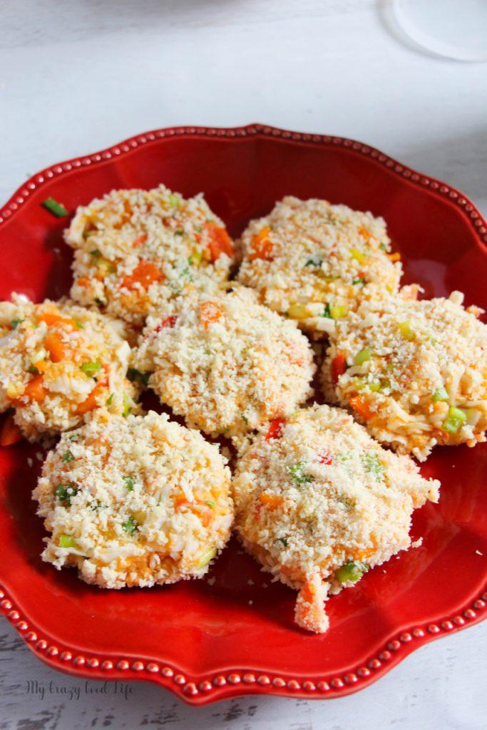 Simple Crab Cake Recipe  Healthy Crab Cake Recipe Sweet Potato Crab Cakes