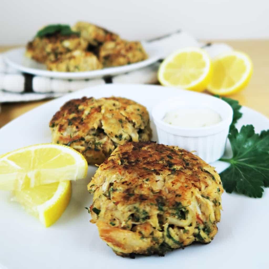 Simple Crab Cake Recipe  easy crab cakes