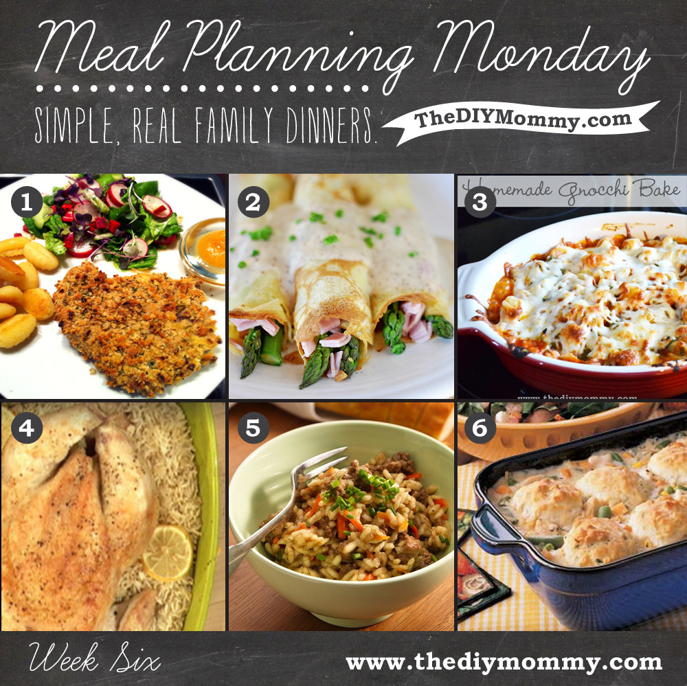 Simple Family Dinners  Meal Planning Monday Week 6 – Simple Real Family Dinners