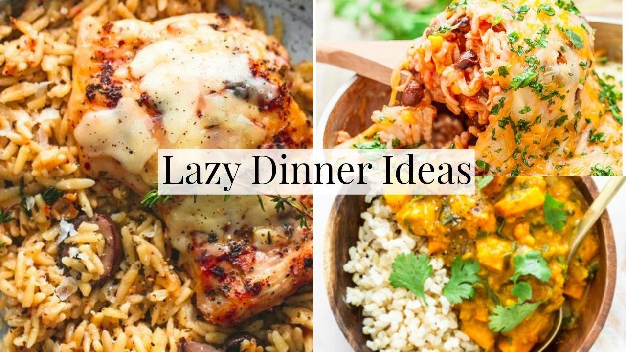 Simple Family Dinners  Easy Family Dinner Ideas For LAZY DAYS