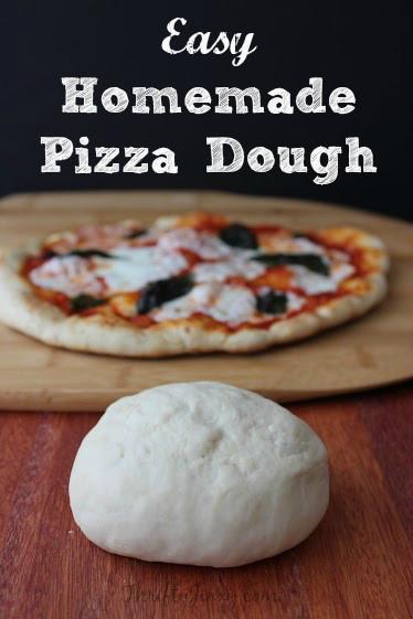Simple Pizza Dough  Easy Homemade Pizza Dough Recipe Thrifty Jinxy