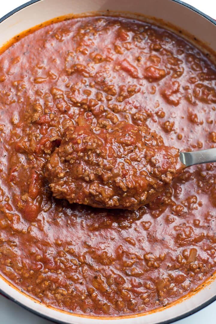 Simple Spaghetti Sauce Recipe  Easy Homemade Spaghetti Sauce