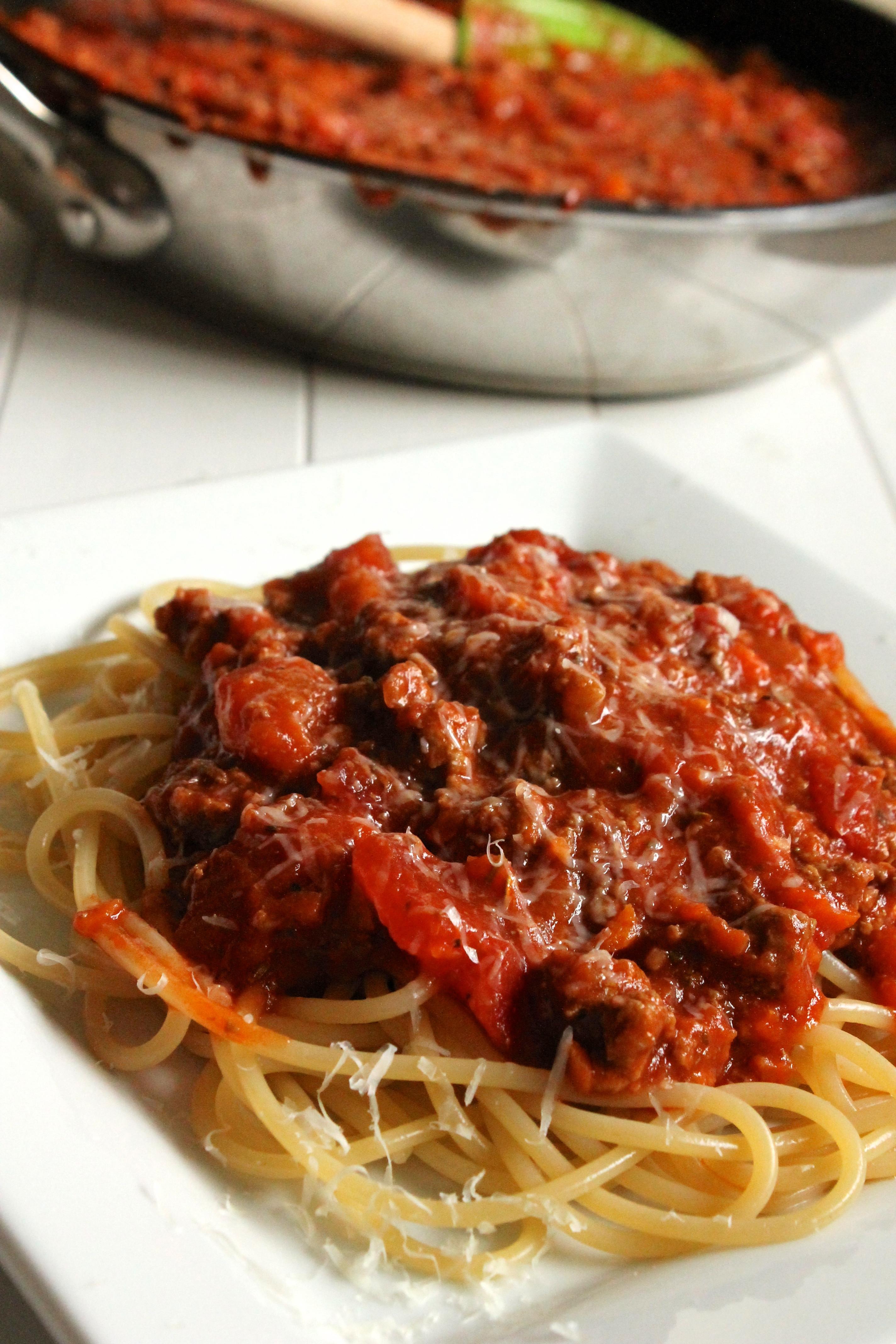 Simple Spaghetti Sauce Recipe  Easy Meaty Spaghetti Sauce