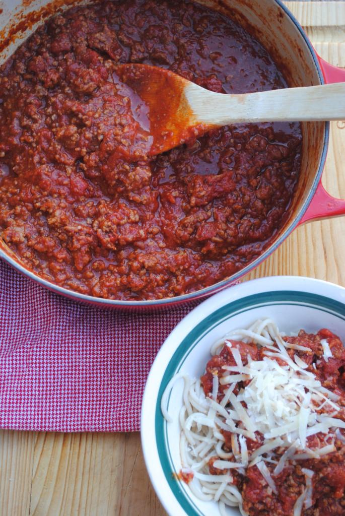 Simple Spaghetti Sauce Recipe  Easy Spaghetti Sauce We Got Real