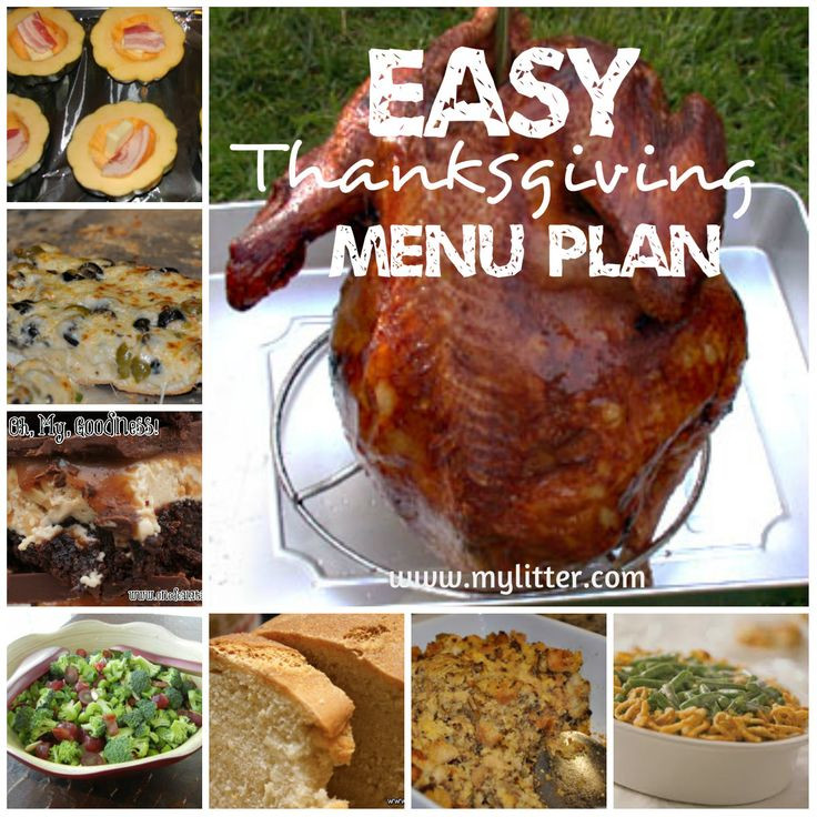 Simple Thanksgiving Dinners  11 best images about Thanksgiving on Pinterest