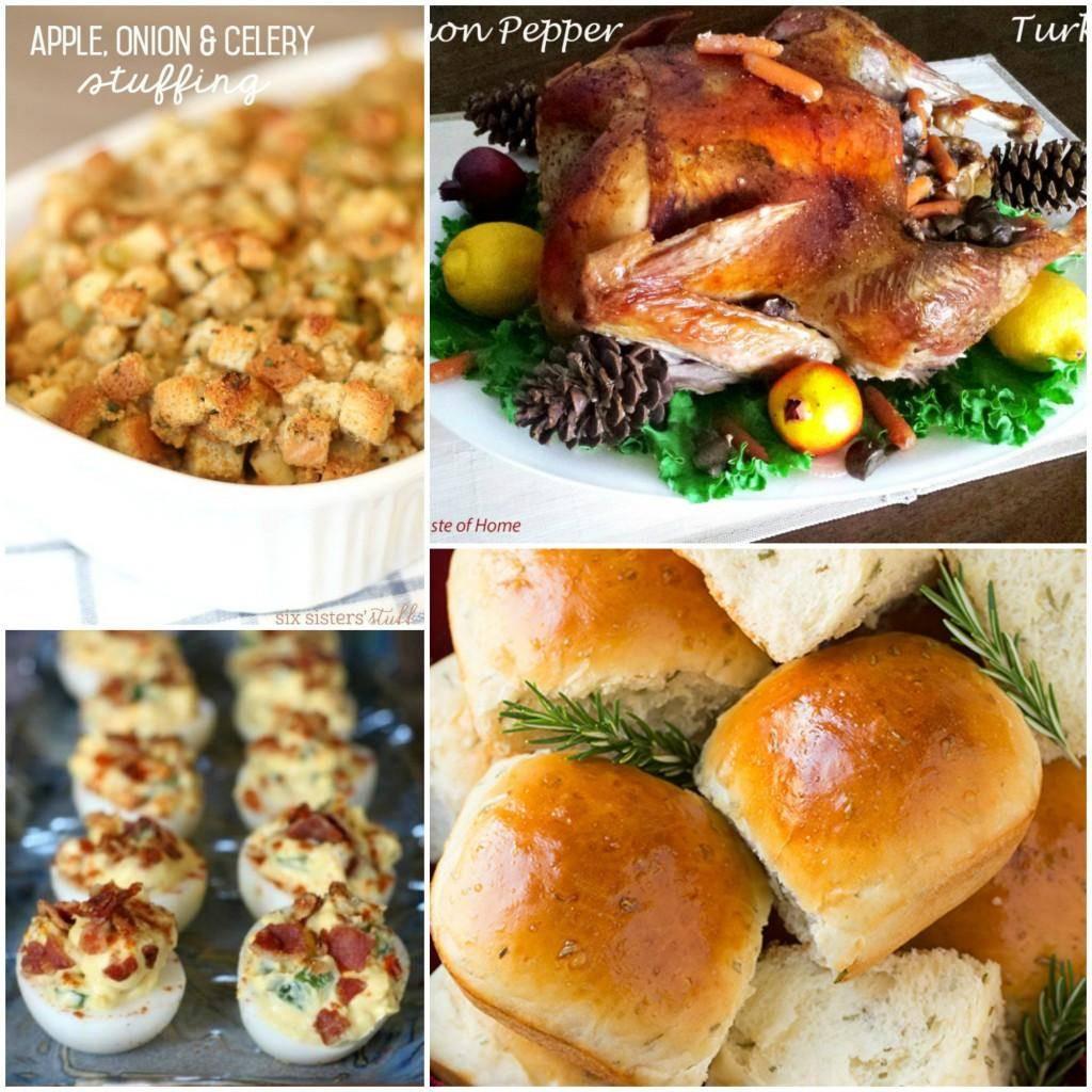Simple Thanksgiving Dinners  Easy Thanksgiving Dinner Recipes