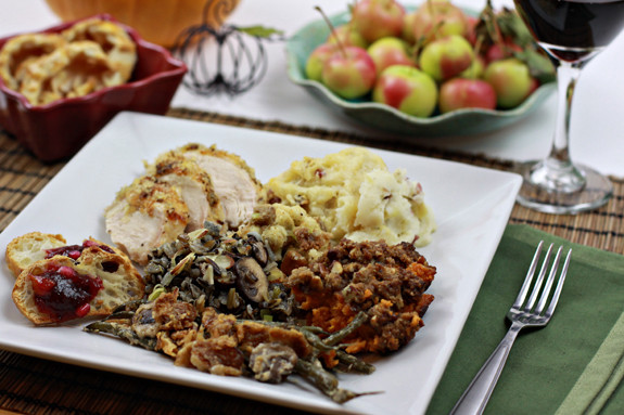 Simple Thanksgiving Dinners  A Simple Bites Thanksgiving Menu recipe Cranberry Orange