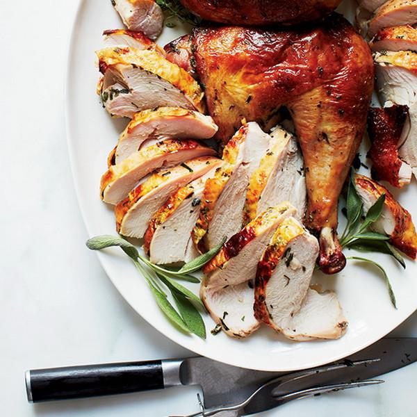 Simple Thanksgiving Dinners  Simple Apple Marinated Baked Turkey – Best Easy