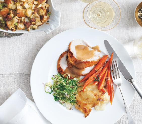 Simple Thanksgiving Dinners  Thanksgiving Dinner Menu Real Simple