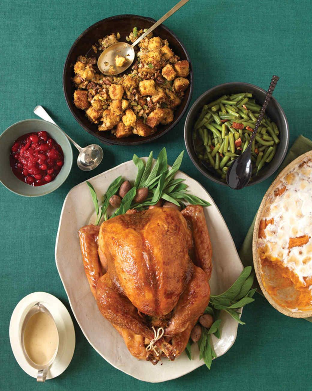 Simple Thanksgiving Dinners  Easy Thanksgiving Menus