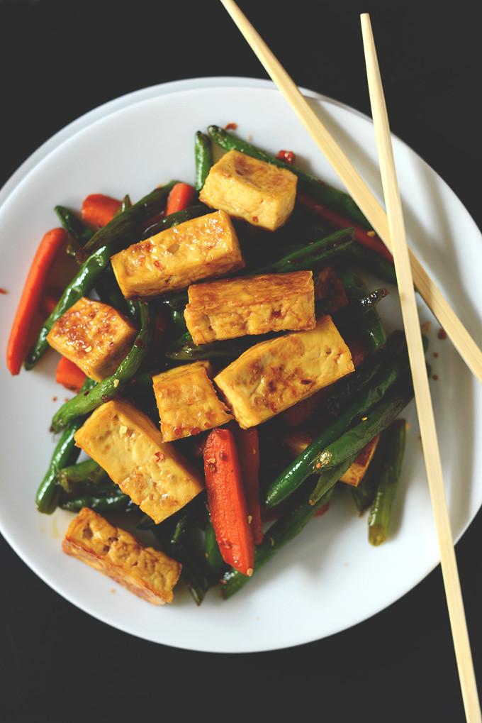 Simple Tofu Recipes  Veggie Tofu Stir Fry