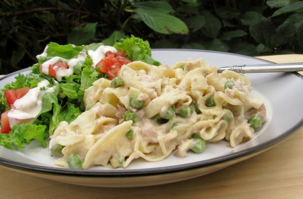Simple Tuna Casserole  Simple Tuna Noodle Casserole Recipe Food