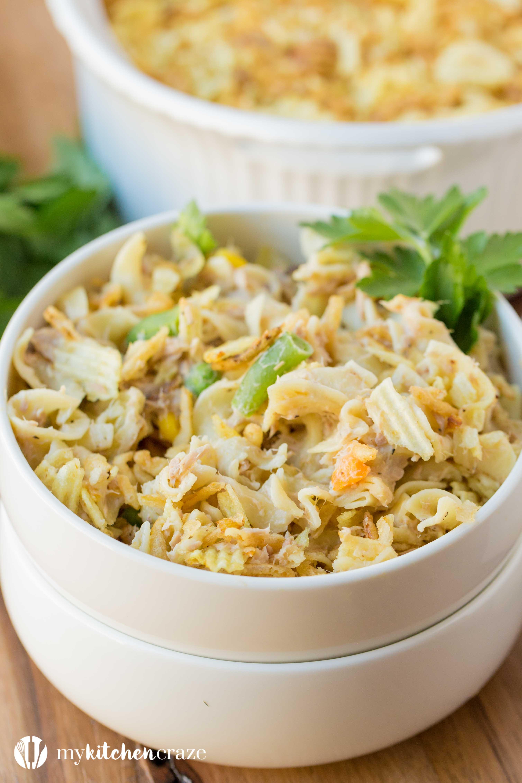 Simple Tuna Casserole  Tuna Casserole a Recipe Video My Kitchen Craze