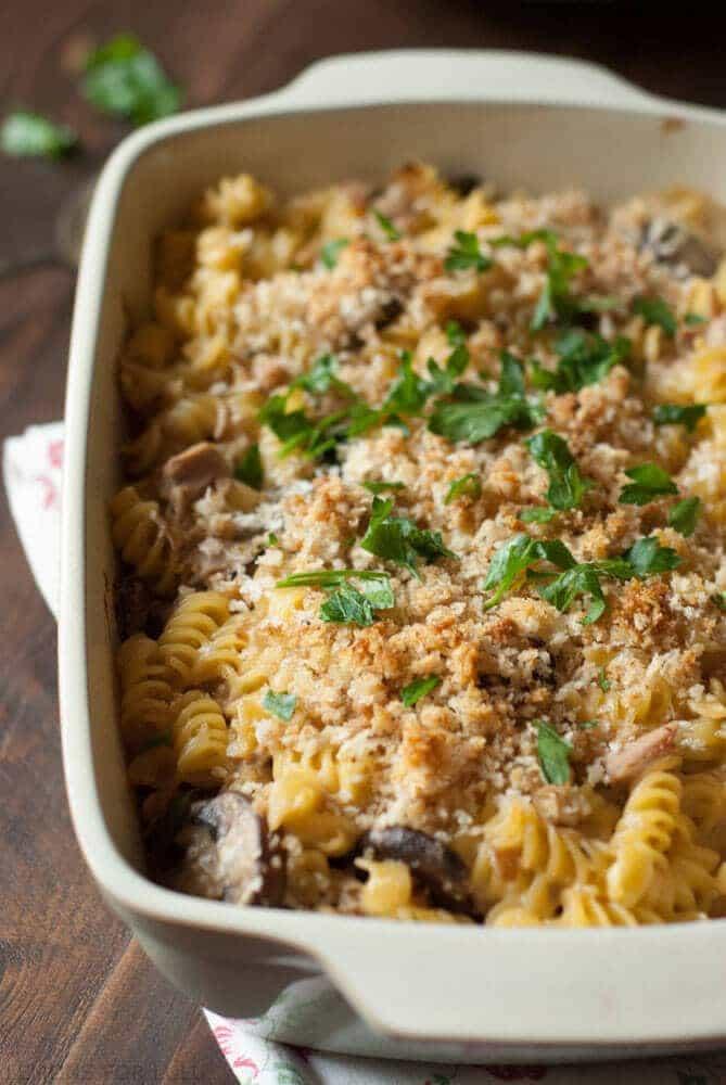 Simple Tuna Casserole  Tuna Noodle Casserole LemonsforLulu