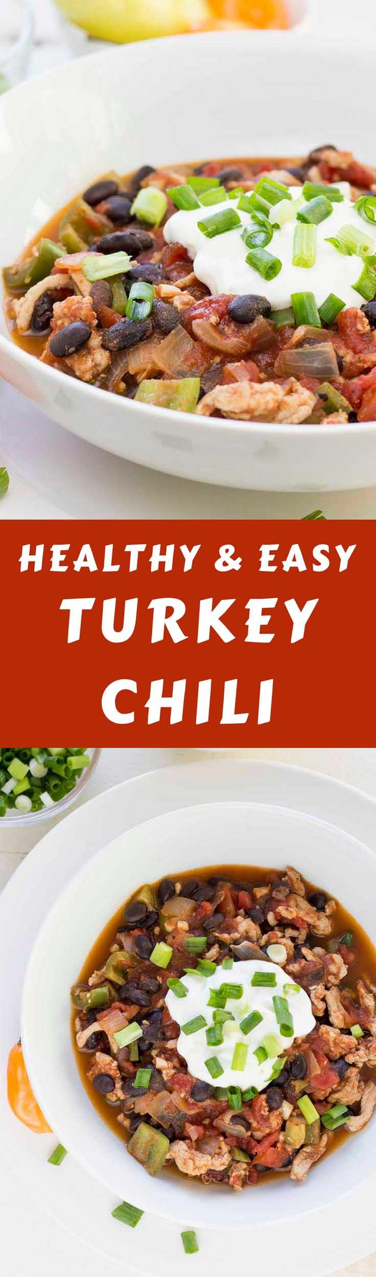 Simple Turkey Chili  Simple Turkey Chili