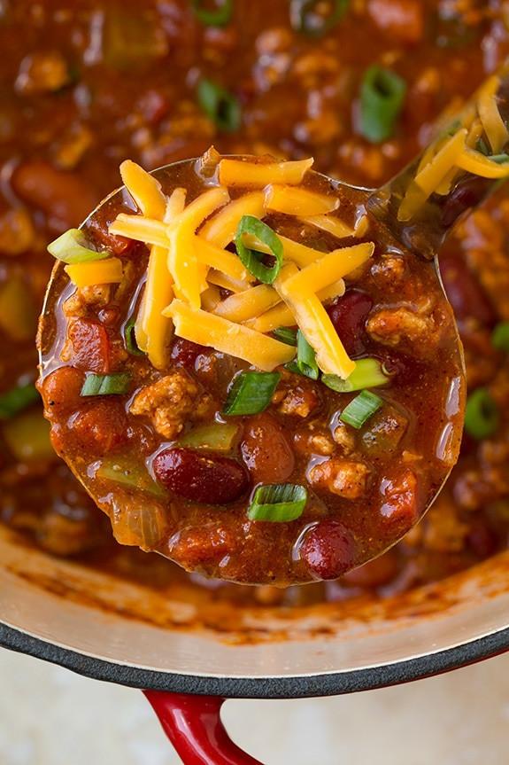 Simple Turkey Chili  Simple Turkey Chili Recipe — Dishmaps