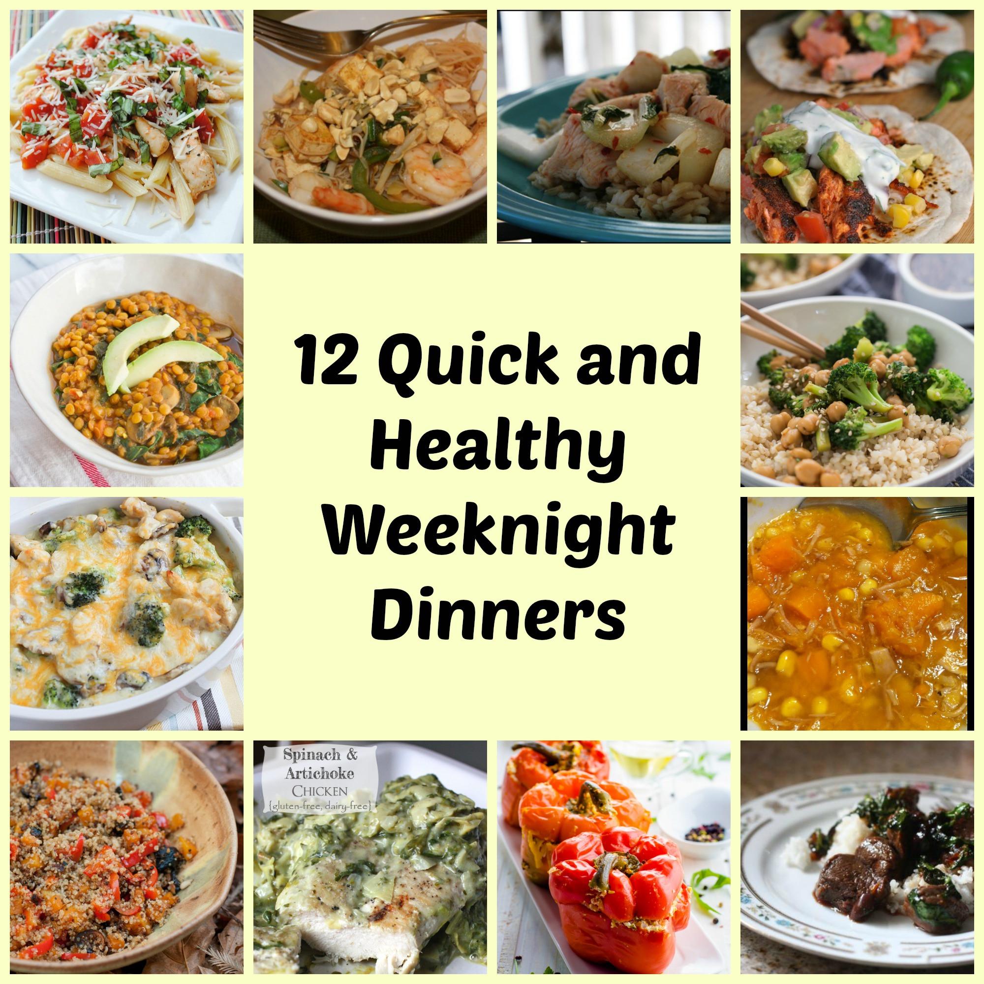 Simple Weeknight Dinners  12 Easy weeknight meals training plans