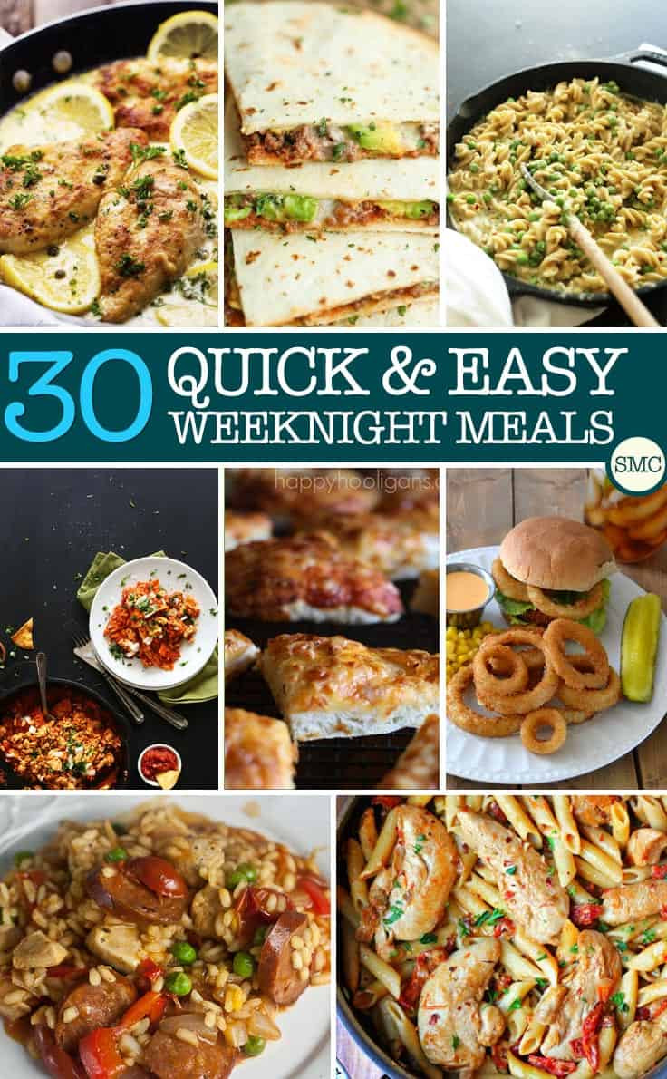 Simple Weeknight Dinners  The Wednesday Roundup Week 126 LeMoine Family Kitchen