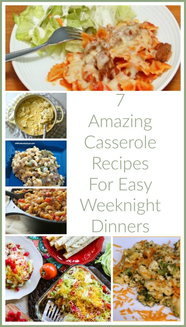 Simple Weeknight Dinners  17 Best images about forting Casseroles on Pinterest