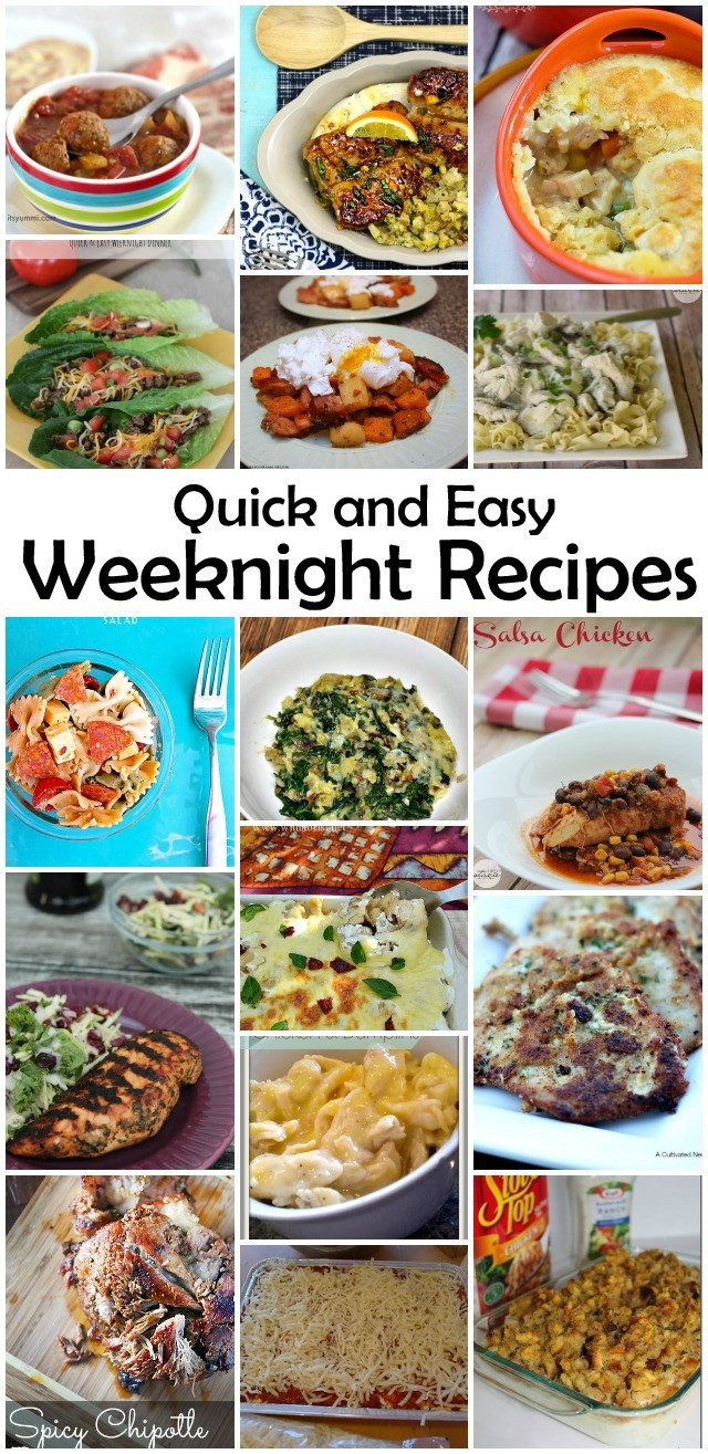 Simple Weeknight Dinners  Quick and Easy Weeknight Recipes MMM 258 Block party
