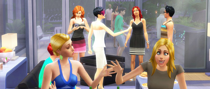 Sims 4 Dinner Party  Social Events Throwing a Party in The Sims 4