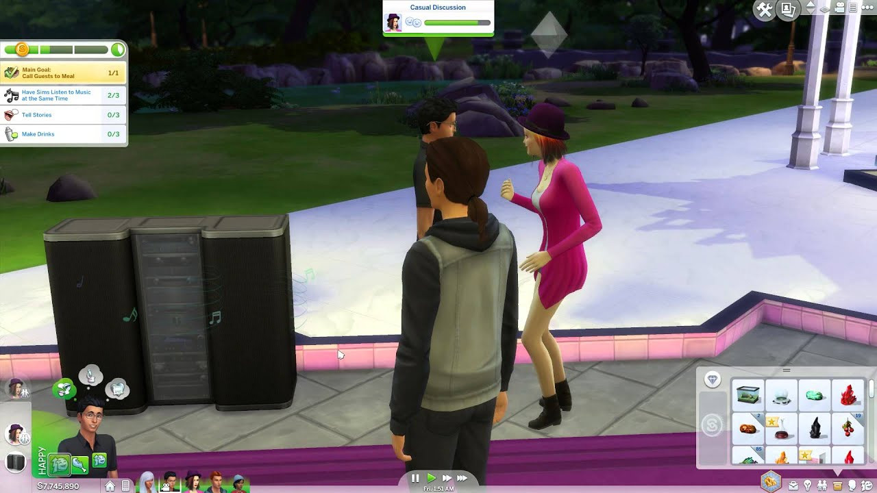 Sims 4 Dinner Party  How to have a successful dinner party in The Sims 4