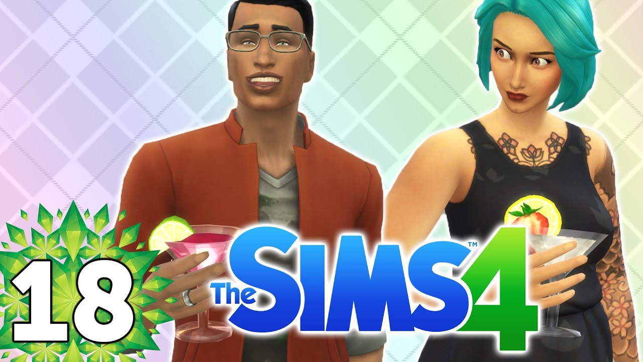 Sims 4 Dinner Party  Let s Play The Sims 4 Part 18 Dinner Party